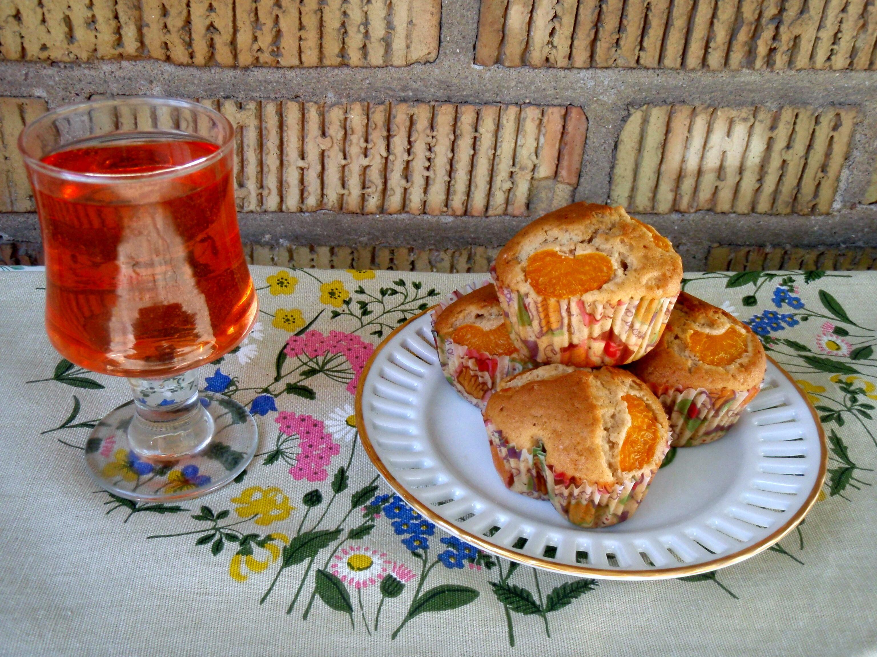 Muffins mandarine
