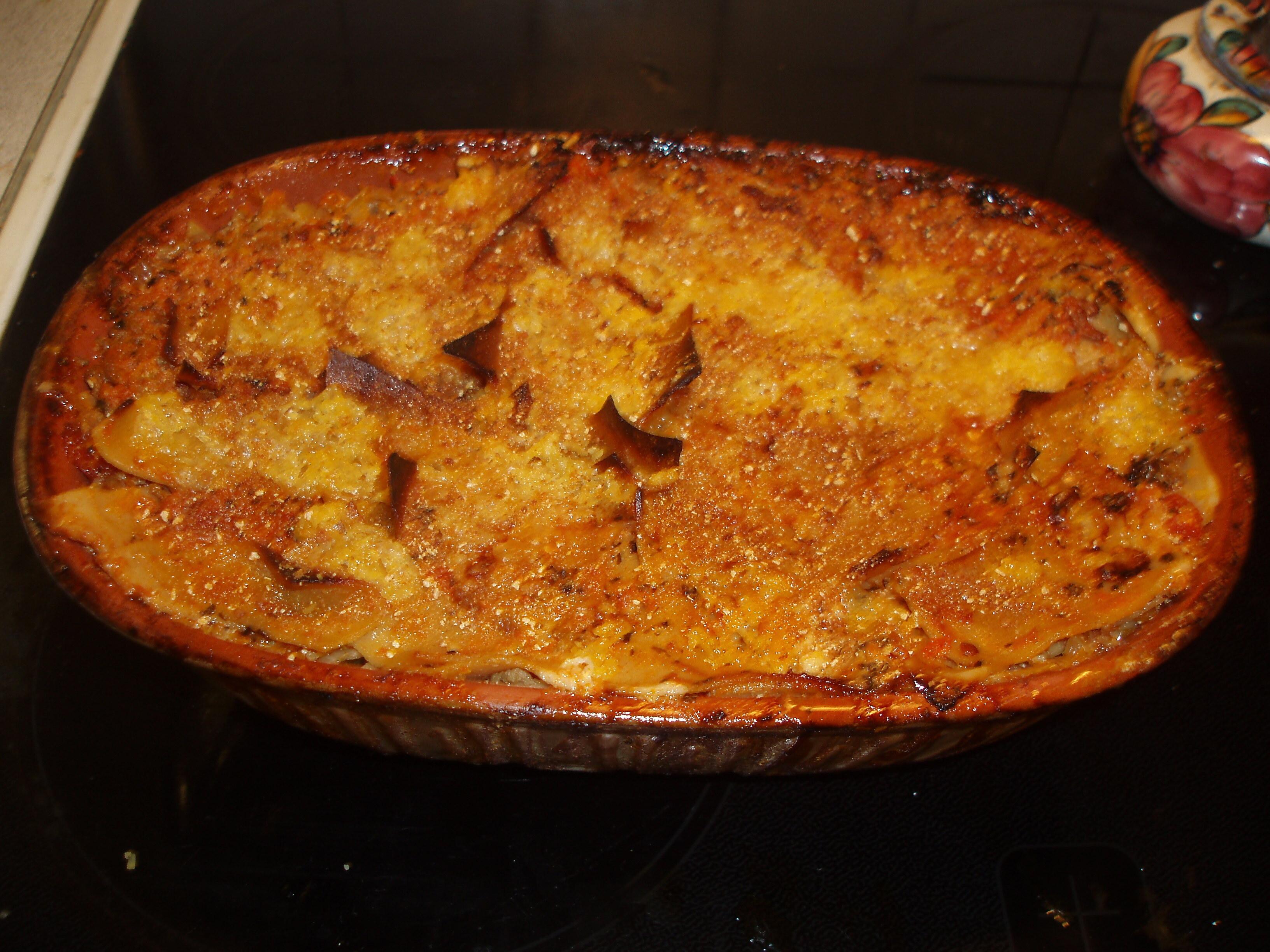 Lasagne i lergryta