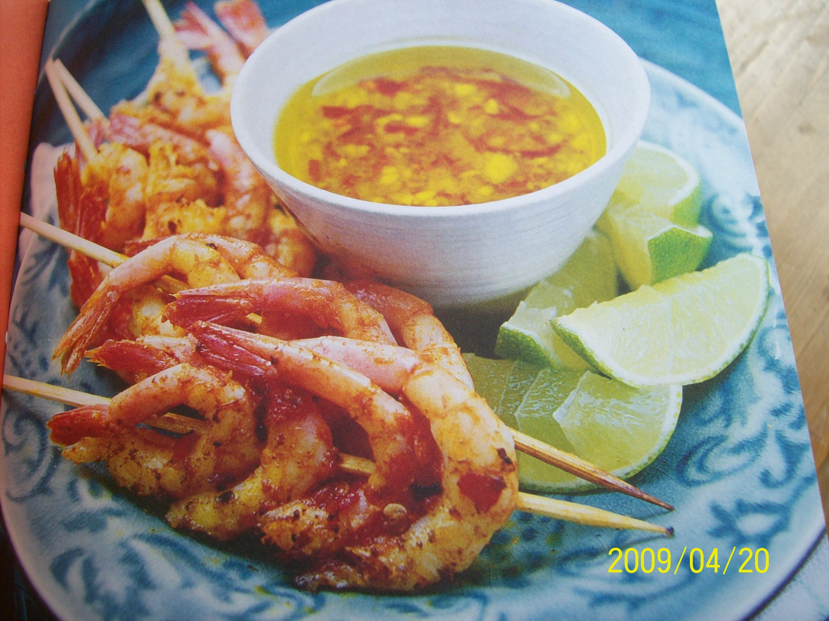 Heta curryräkor