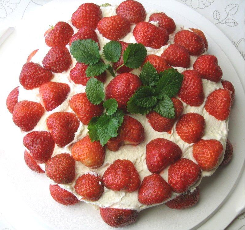 Midsommartårta ..
