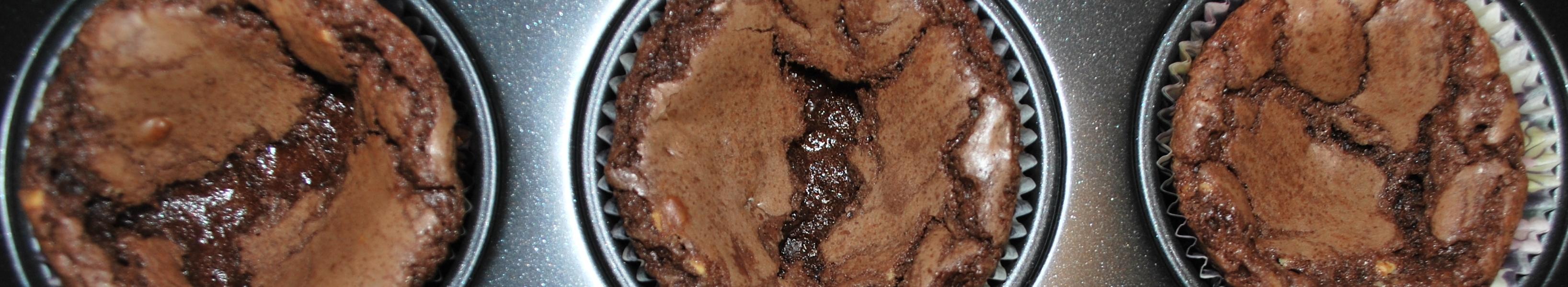choklad muffins med choklad