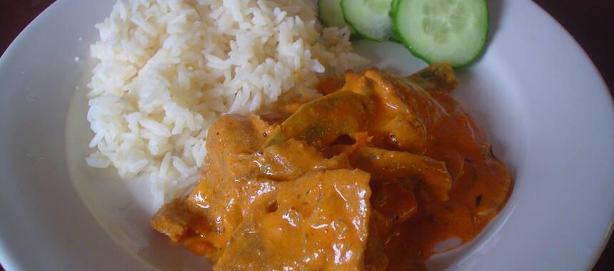 kebabgryta med ris recept