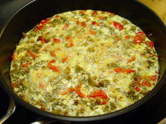 Ingevaras omelett