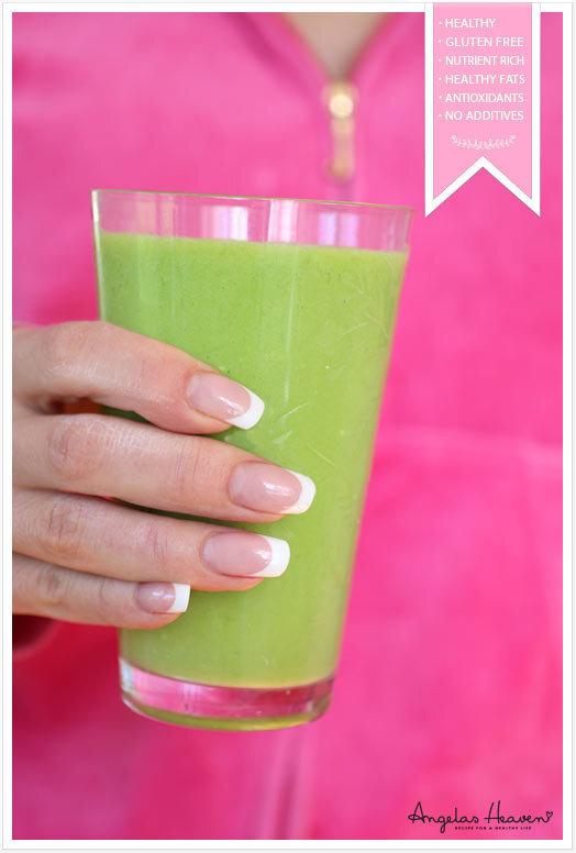 Grön tropisk smoothie för nybörjare