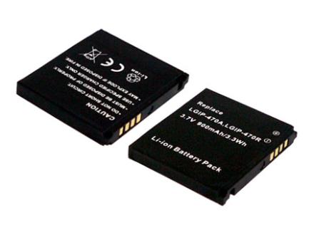 Ersättningsbatteri LGIP-470A