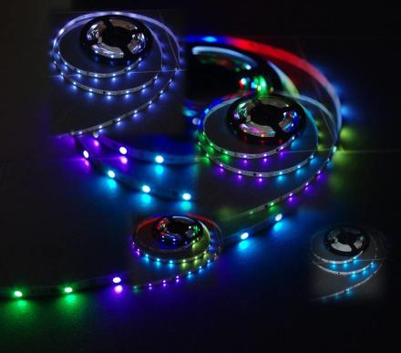 Dream Color LED list 30 LED 7,2 W/m stänksäker