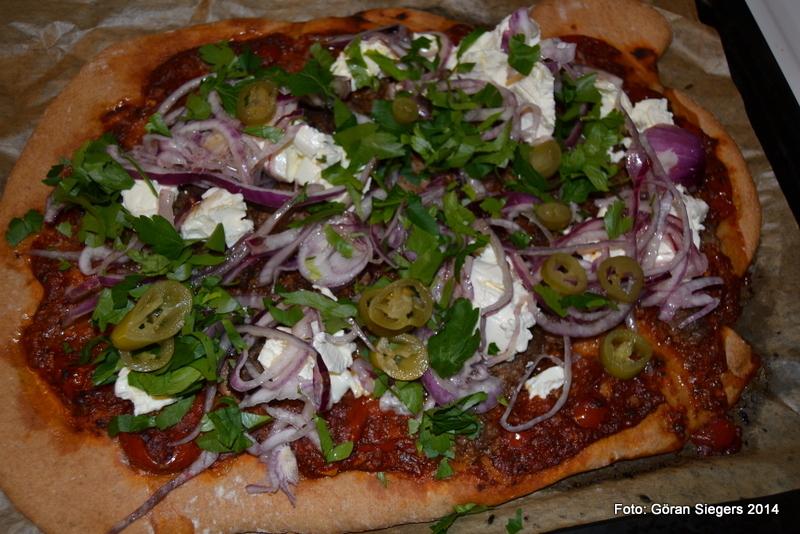 Turkisk Pizza m