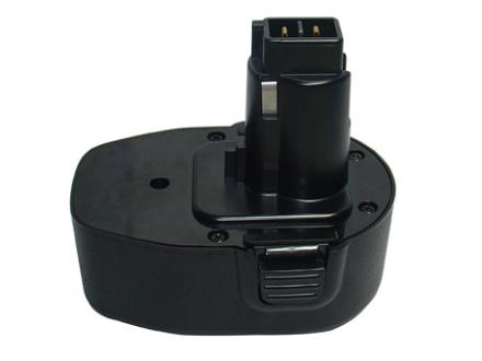 Ersättningsbatteri BLACK & DECKER 14.4V 2000mAh Ni-MH Grön