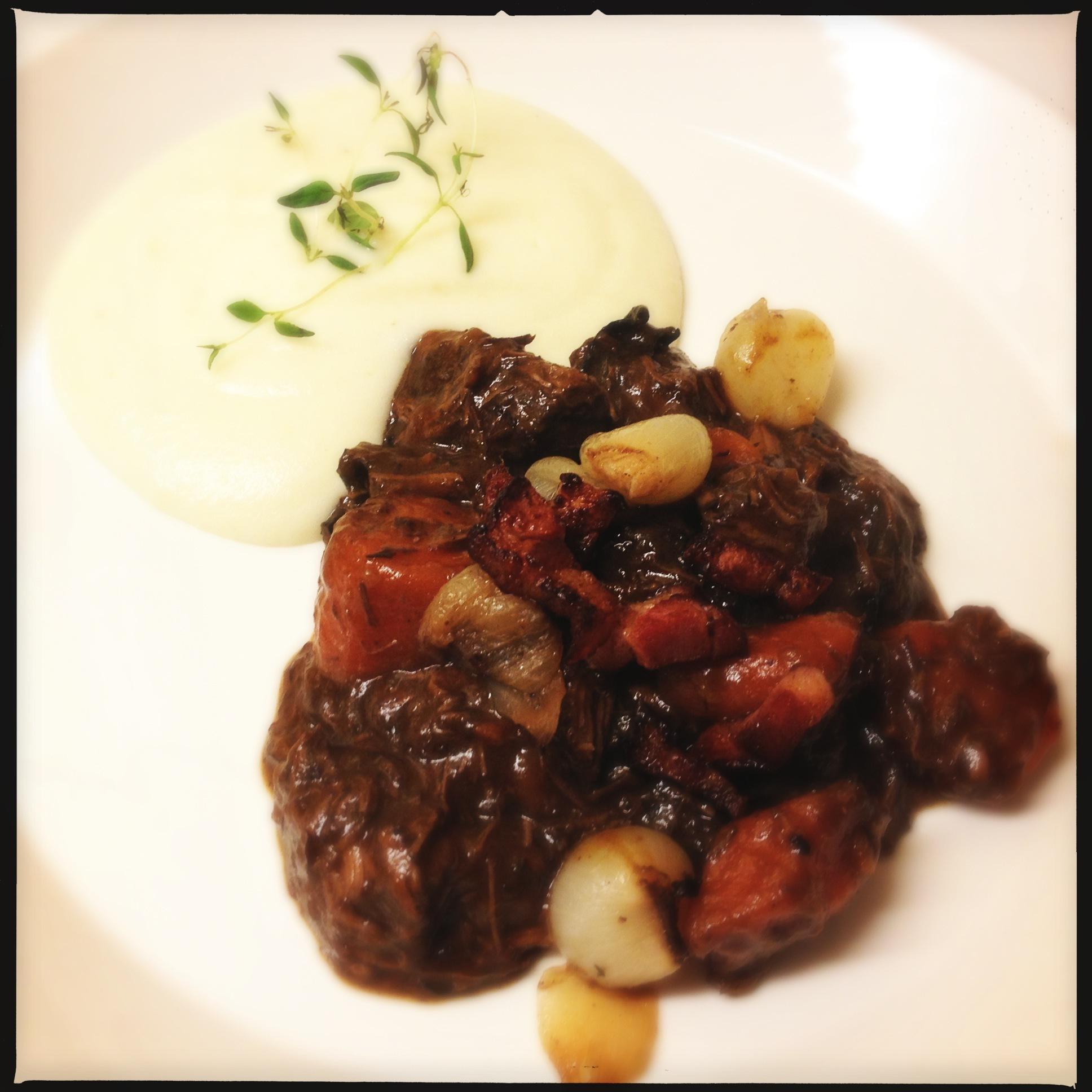 Bœuf bourguignon – underbara franska smaker i lergryta