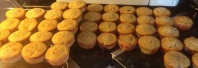rabarbermuffins mandelmassa