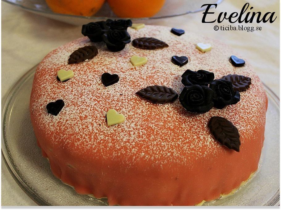 Evelinas 22-års tårta