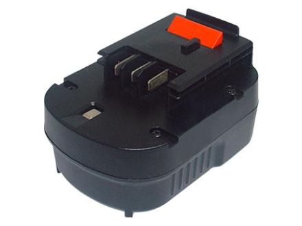 Ersättningsbatteri BLACK & DECKER 12V 3Ah Ni-MH Svar