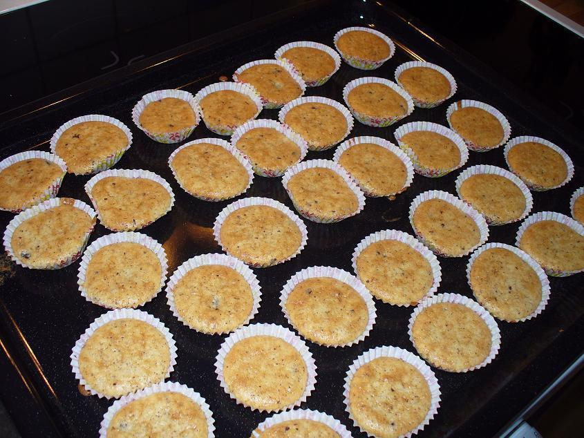 äppelmuffins med mandelmjöl