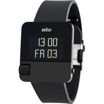 Braun Klocka / Armbandsur Herr Prestige Digital Black, rubber strap