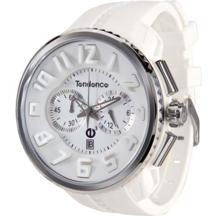 Tendence GULLIVER Round Klocka / Armbandsur Herr Kronograf Vit