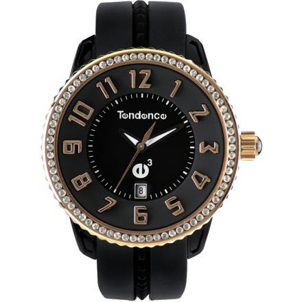 Tendence GULLIVER Medium Klocka / Armbandsur Svart/Roséguld
