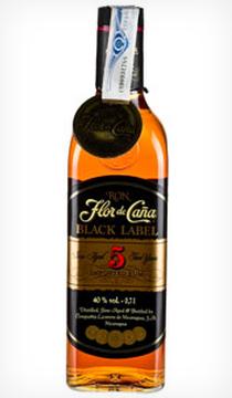 Flor de Caña Black Label 5 years