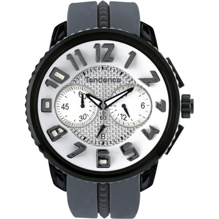 Tendence GULLIVER Round Klocka / Armbandsur Herr Kronograf Grå/Silver