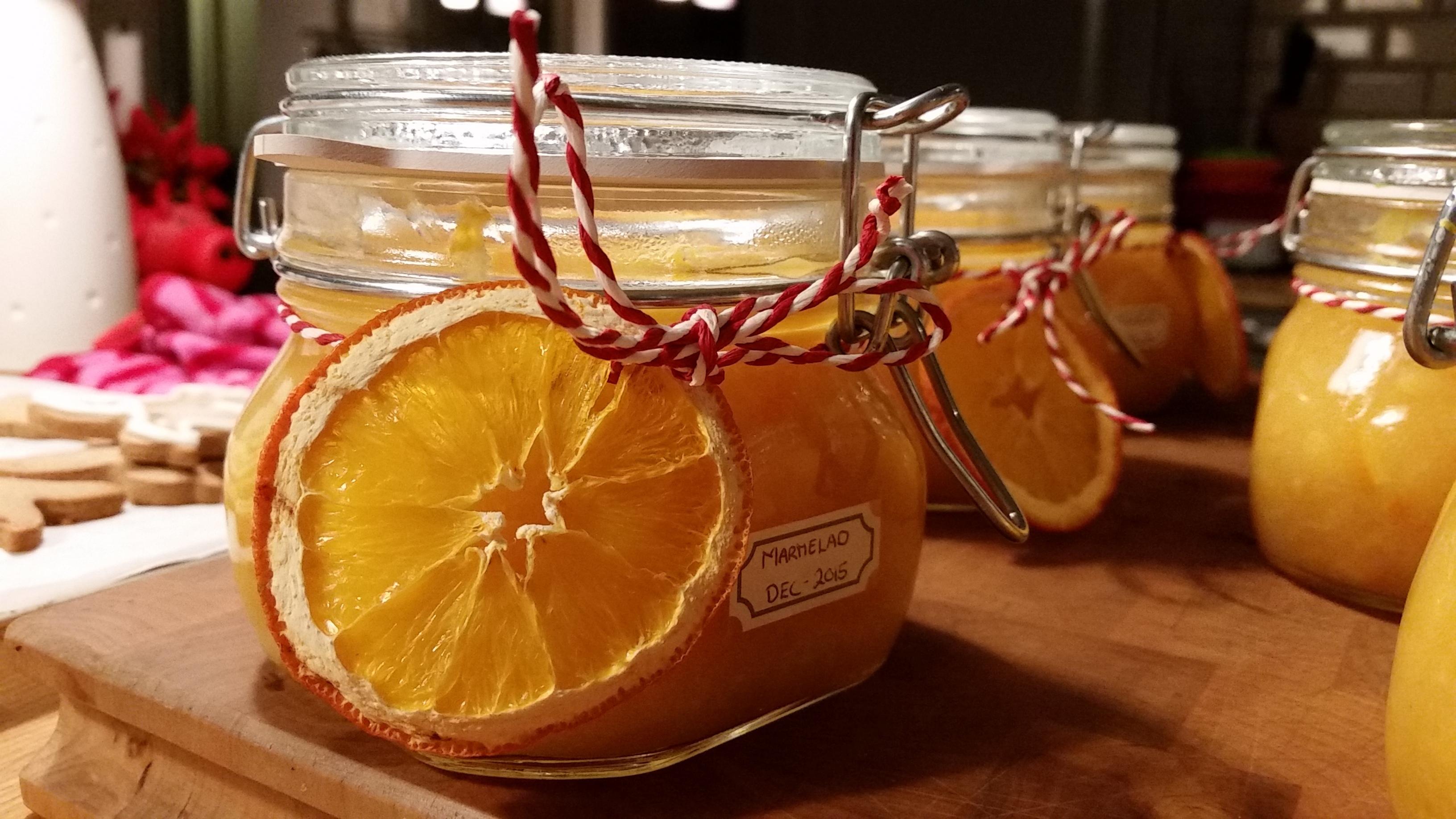 Torkade apelsin..