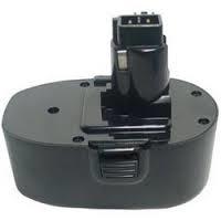 Ersättningsbatteri BLACK & DECKER 18V 3000mAh Ni-MH Grön