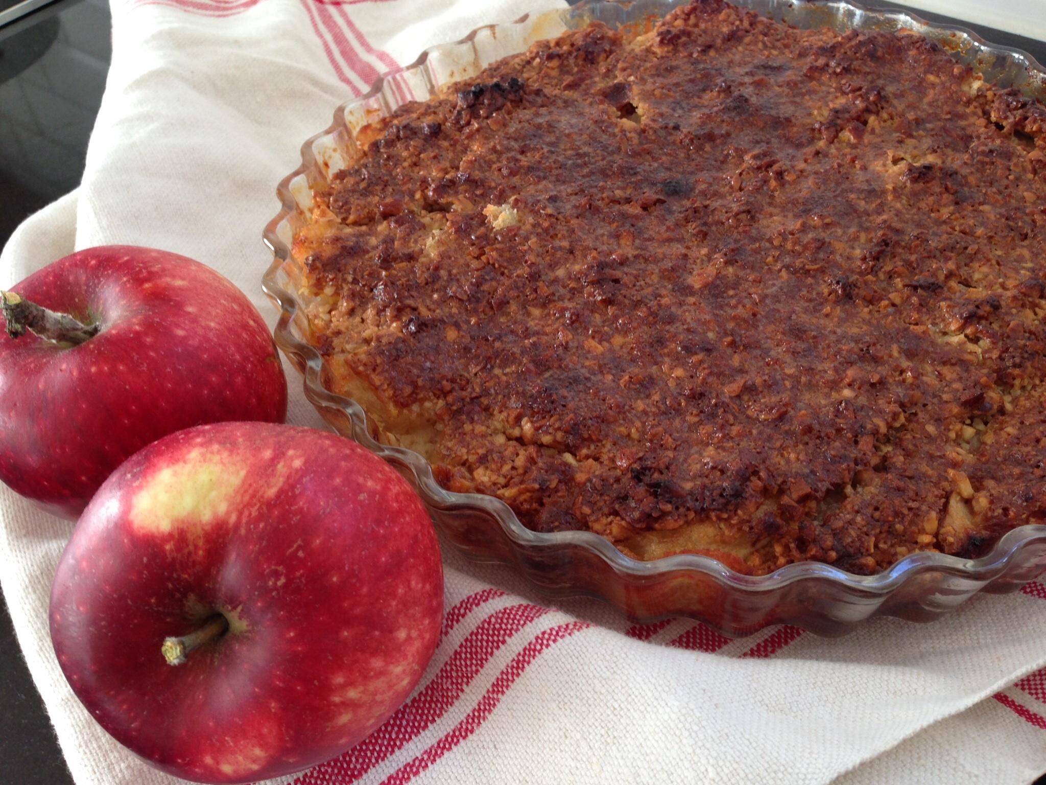 Äppelkaka Underbar