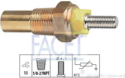 FACET - 7.3028 - Kylvätsketemperatur-sensor