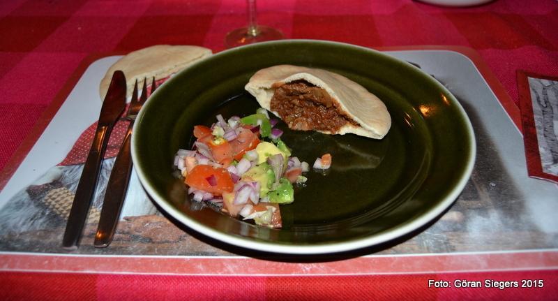 Pitabröd med chipotlefräst lövbiff