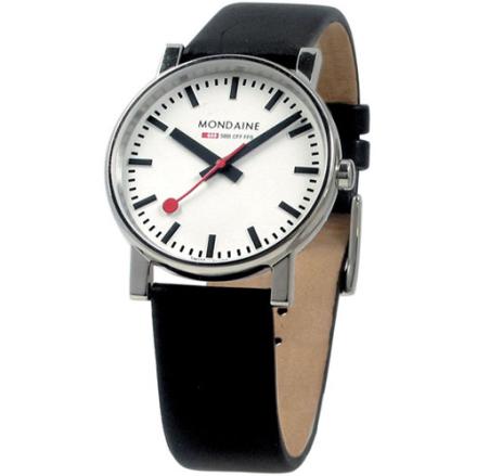 Mondaine Evo Klocka / Armbandsur Herr 35mm Vit