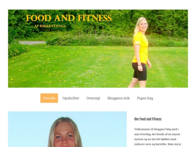 Food and Fitness | Af Rikke Stange