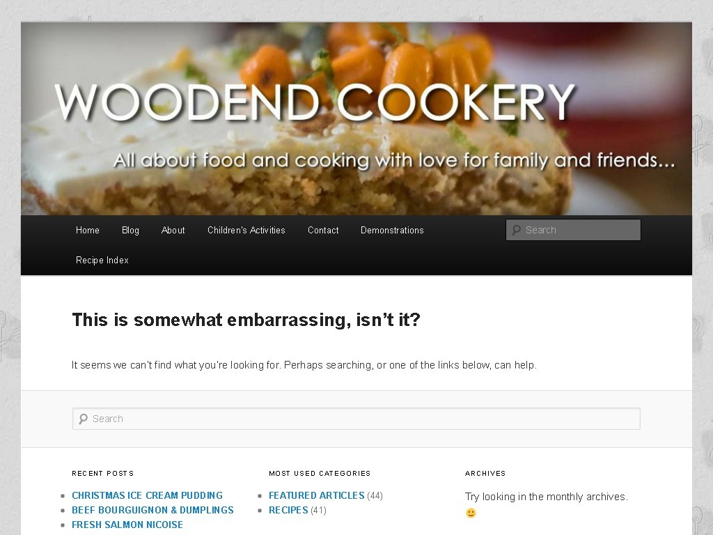Woodend Cookery