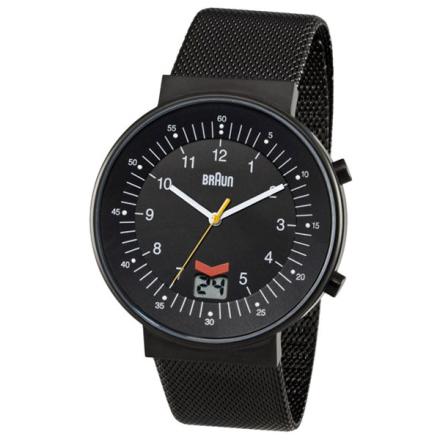 Braun Klocka / Armbandsur Herr RC Ø42 Date PVD Svart
