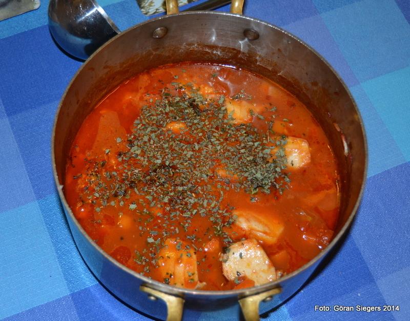 Supersmal fisksoppa med saffran