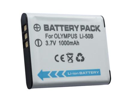 Ersättningsbatteri LI-50B