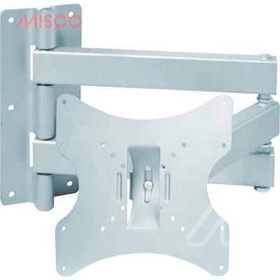 Deltaco väggfäste för LCD/Plasma, 3 leder och TILT, max 20kg, VESA 75, 100 & 200