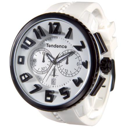 Tendence GULLIVER Round Klocka / Armbandsur Herr Kronograf Vit IPB