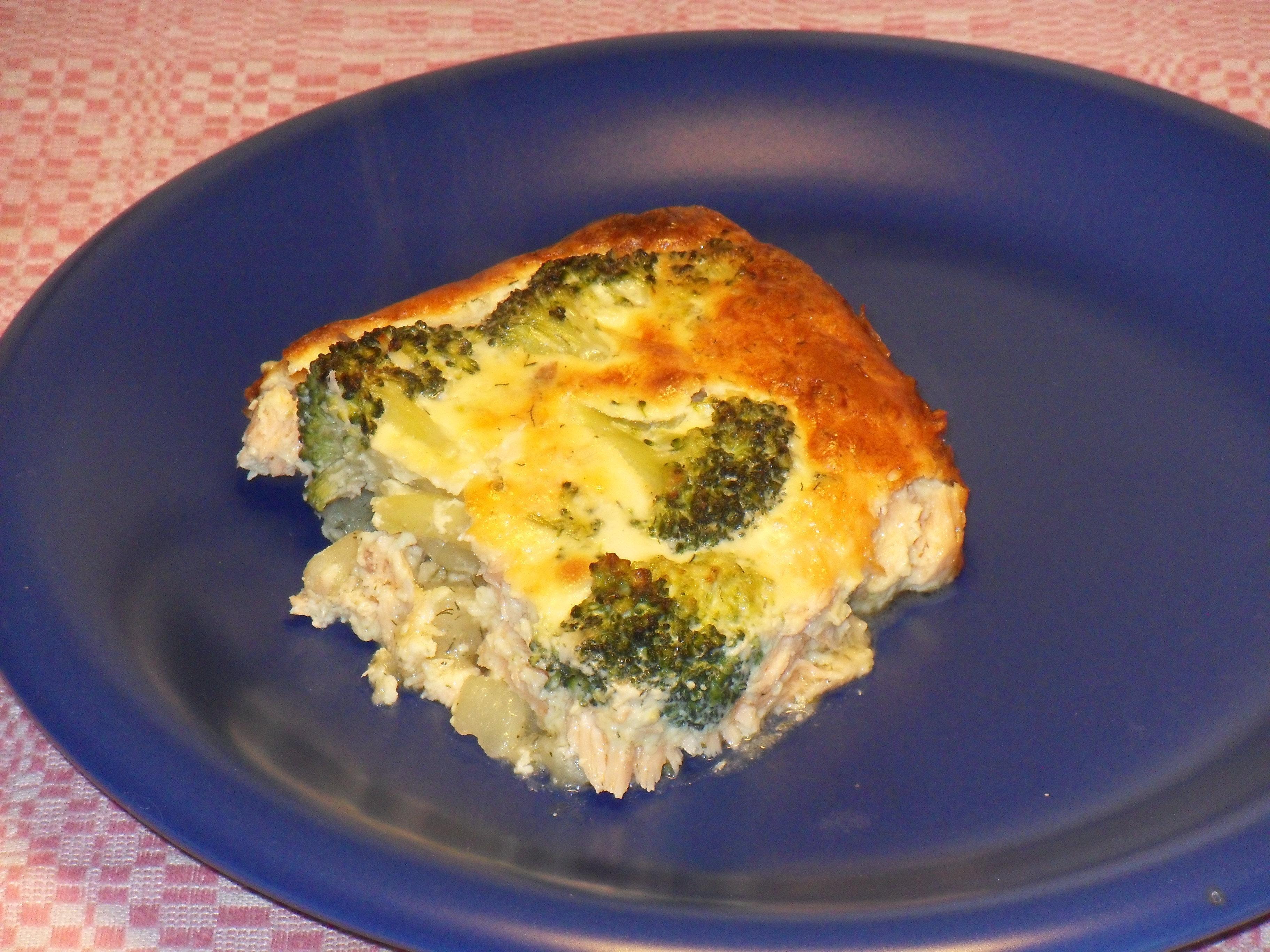Broccolilaxlåda - allt i ett