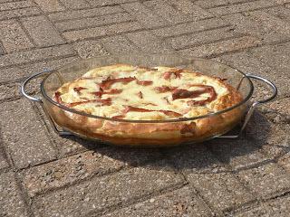 Baconpannkaka m