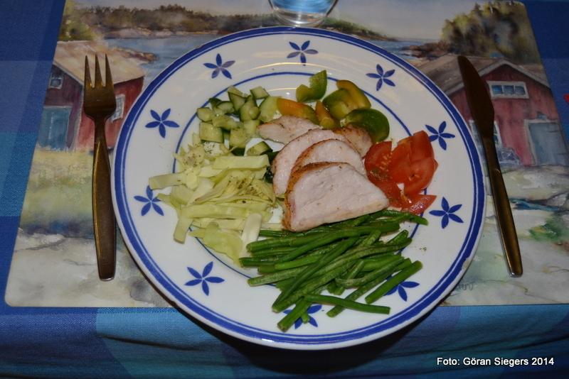 Pepparbakad 5:2 kyckling med gröna blad