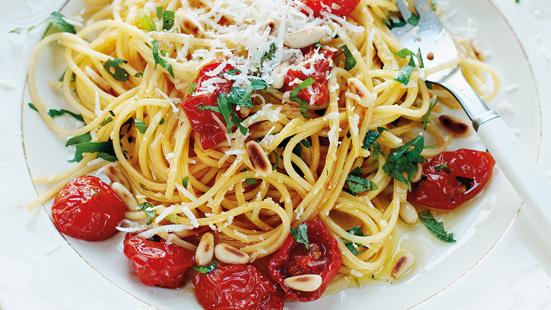 Spaghetti med u..