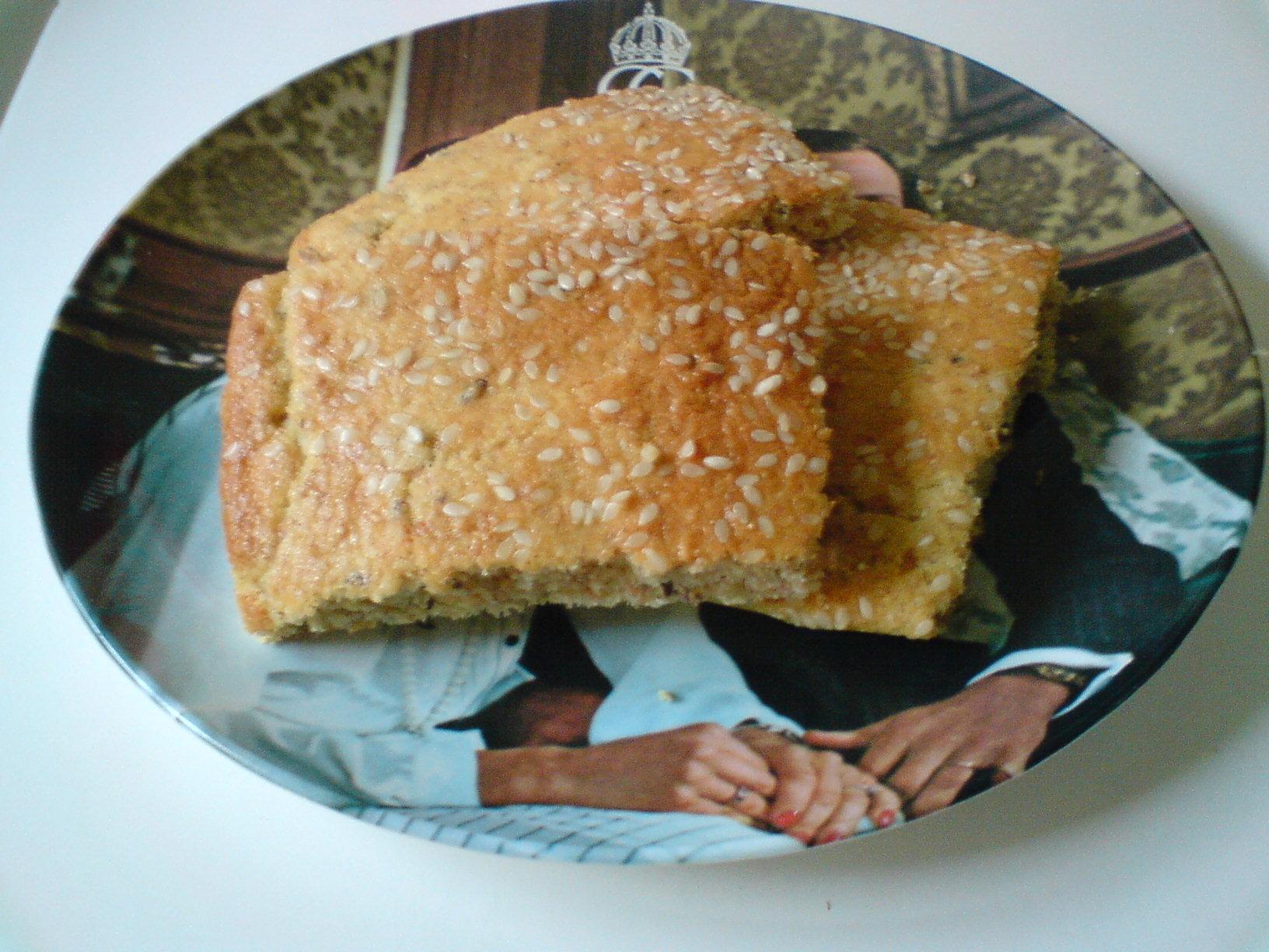 saftigt matbröd i långpanna