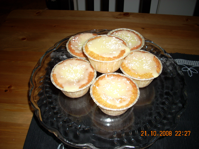 apelsinmuffins med glasyr