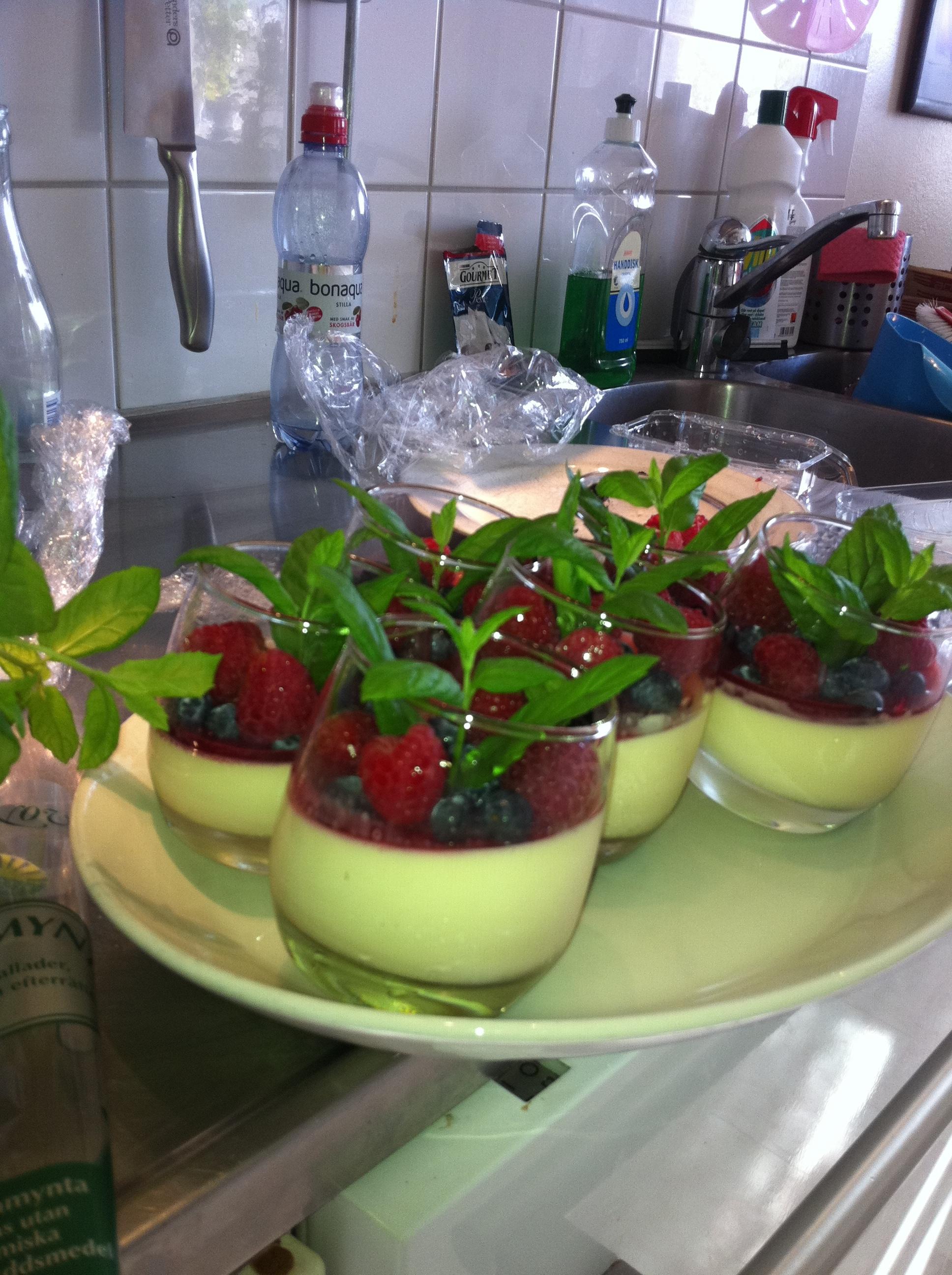 hallonsås med gelatin