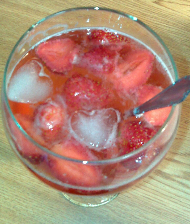 drink jordgubbssaft