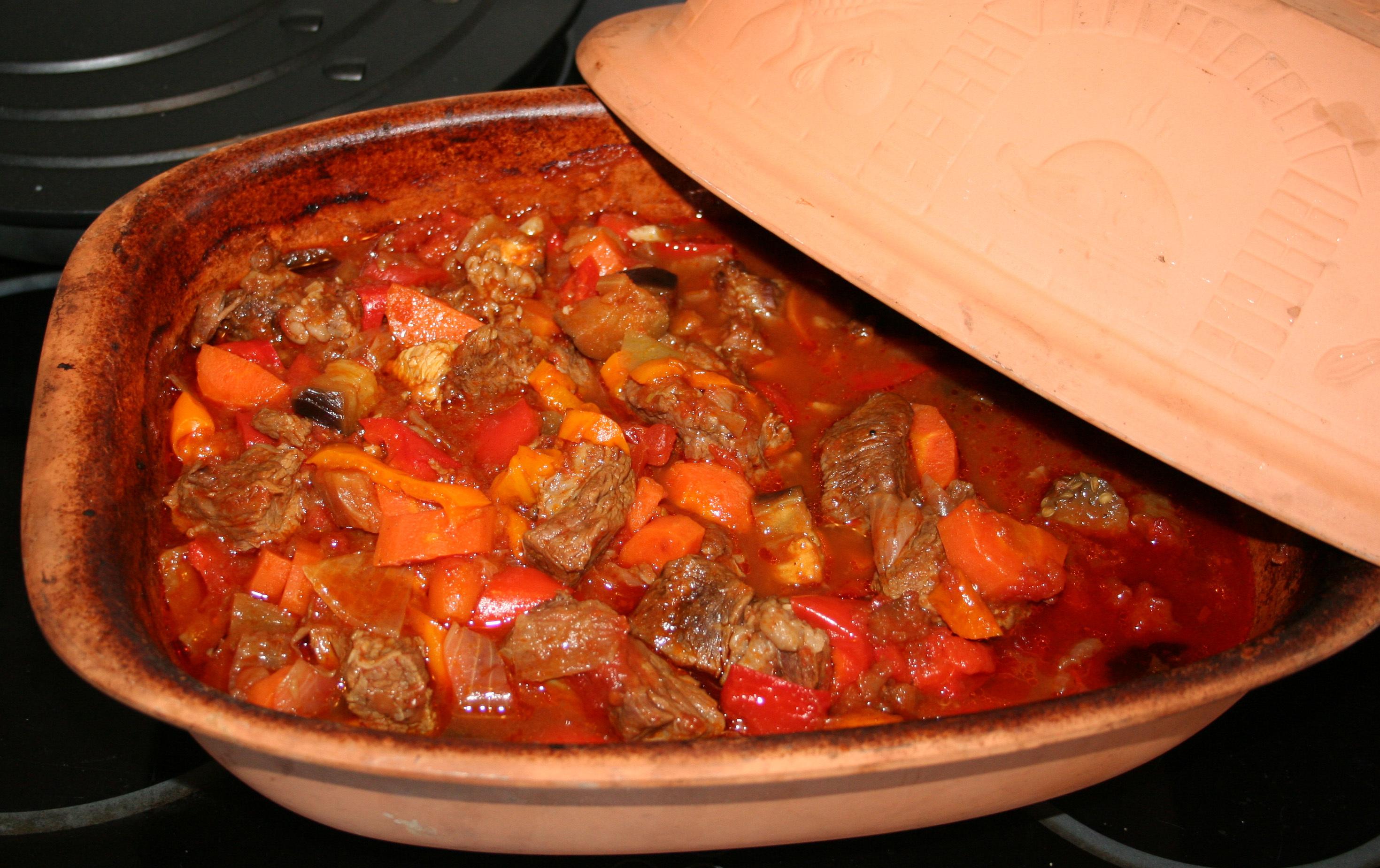 kött och grönsaksgryta