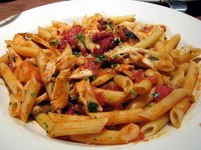 havets läckerheter med pasta
