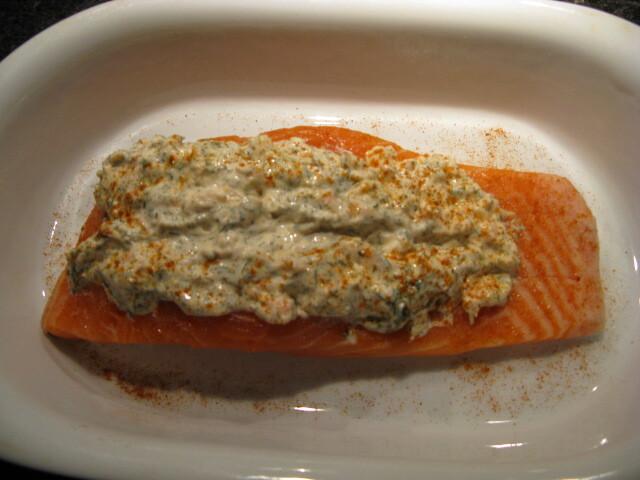 varm dillsås till fisk