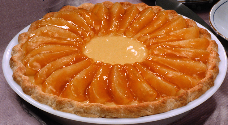 persikopaj mandelmassa
