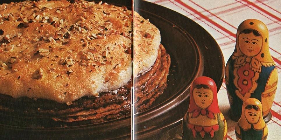 pannkakstårta med maräng