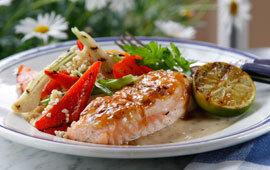 varm limesås till fisk