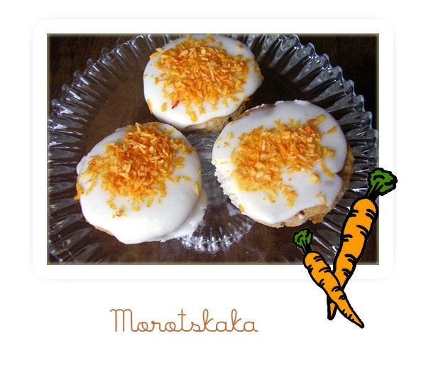 morotskaka i muffinsformar